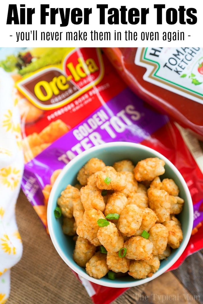frozen tater tots air fryer
