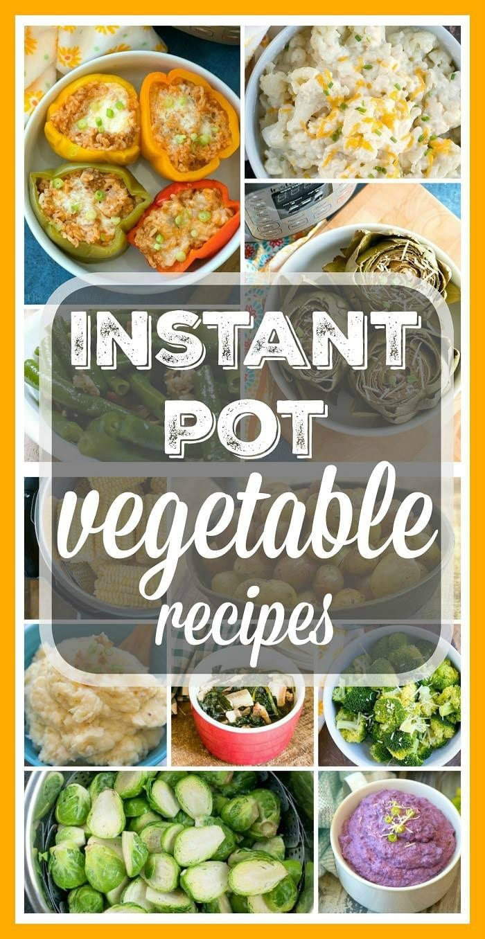 instant pot vegetable recipes