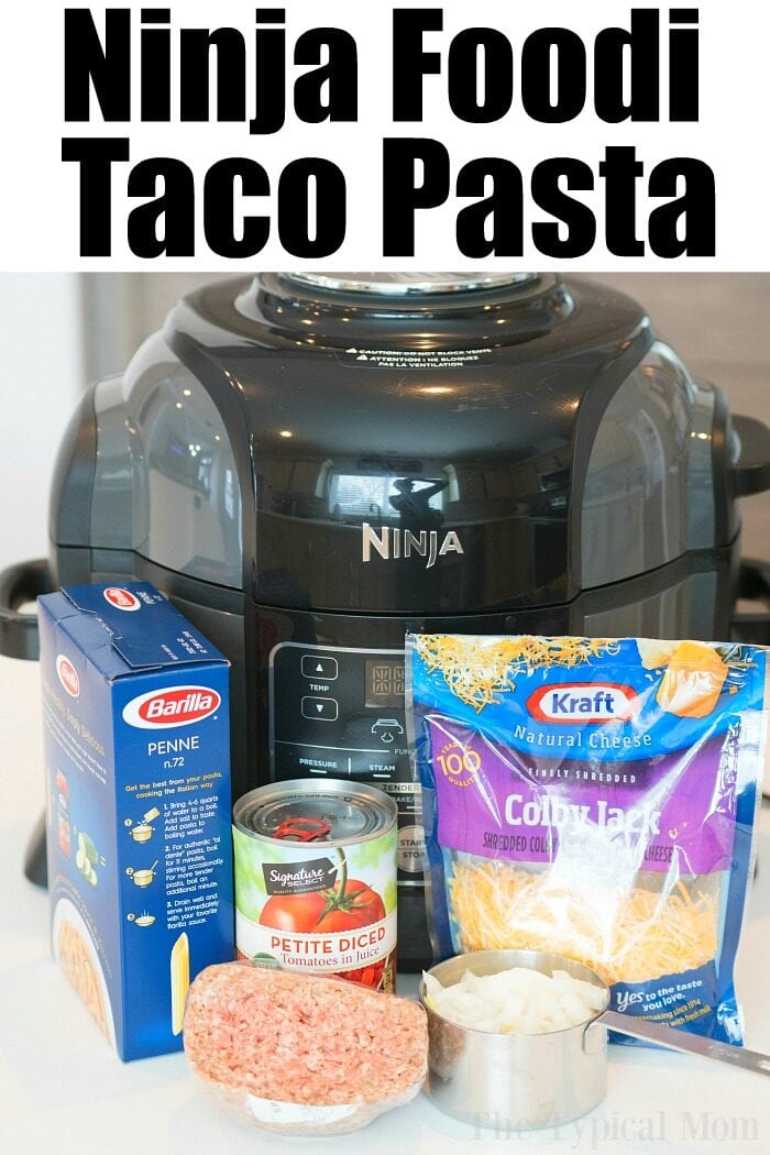 ninja foodi taco pasta 2