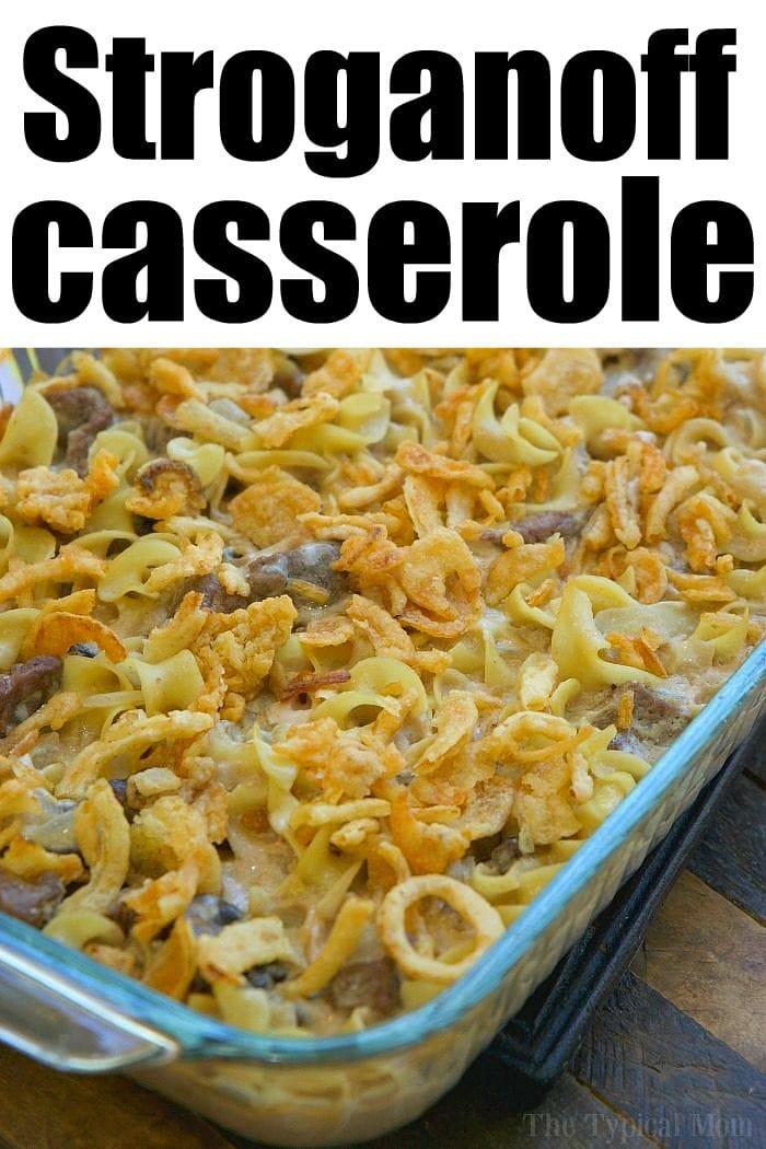stroganoff casserole