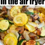 vegetables in air fryer
