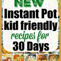 instant pot kid recipes