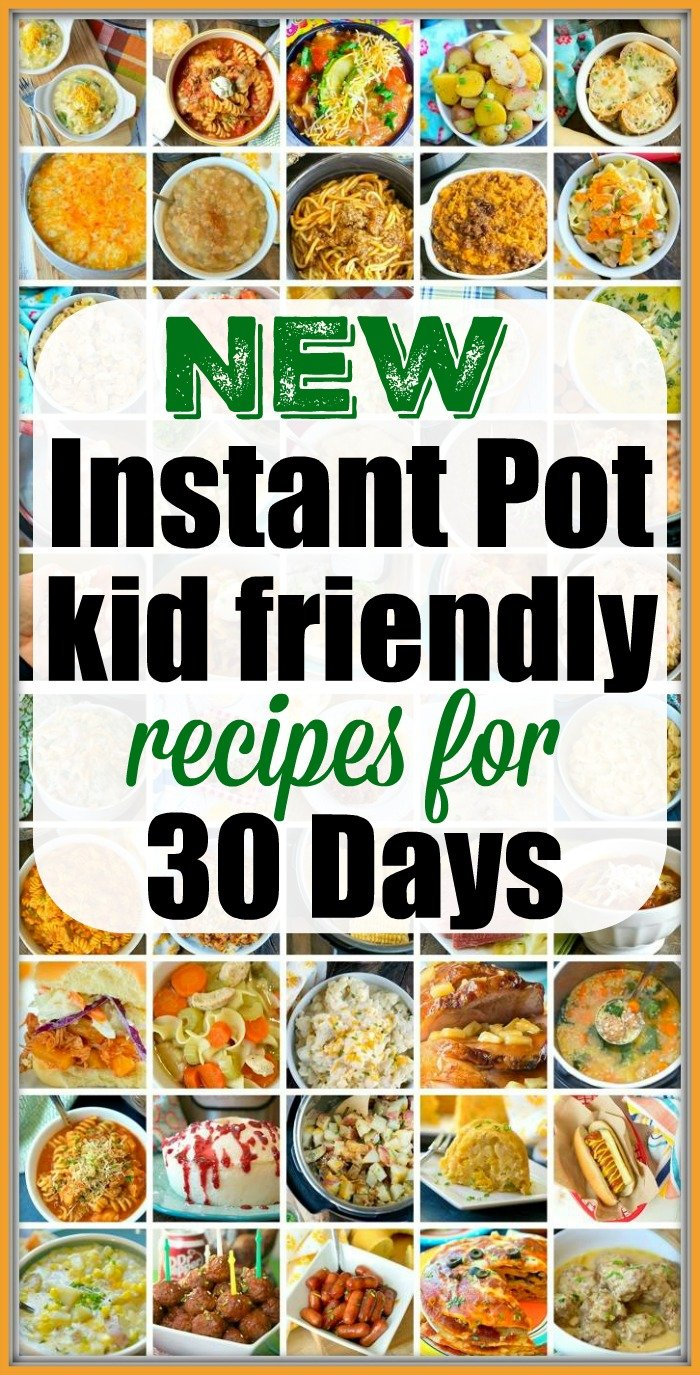 Instant Pot Kids Recipes · The Typical Mom