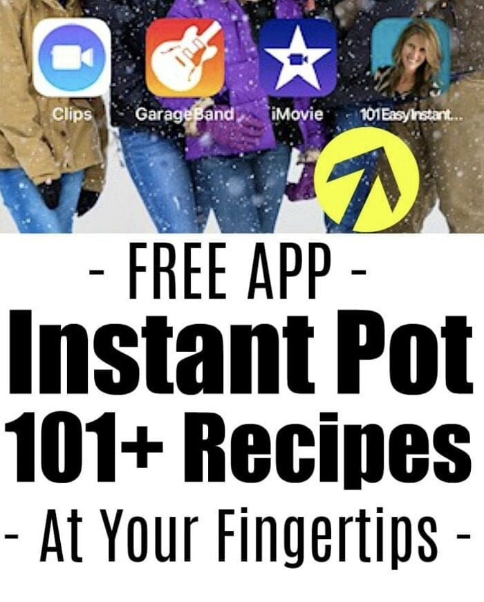 instant pot recipes app