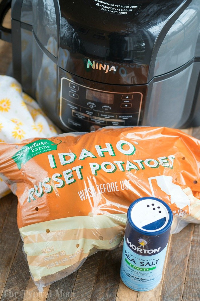 ninja foodi baked potatoes