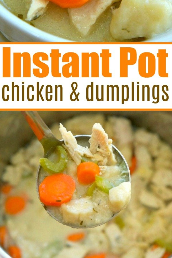 pressure cooker chicken and dumplings