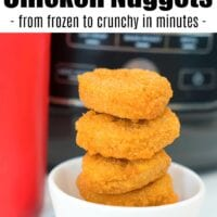 Air Fryer Frozen Chicken Nuggets