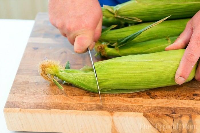 How to Smoke Corn on the Cob 2