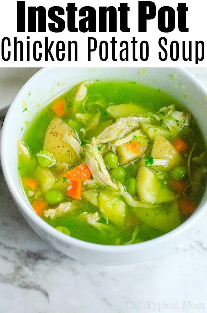 Instant Pot feel better soup