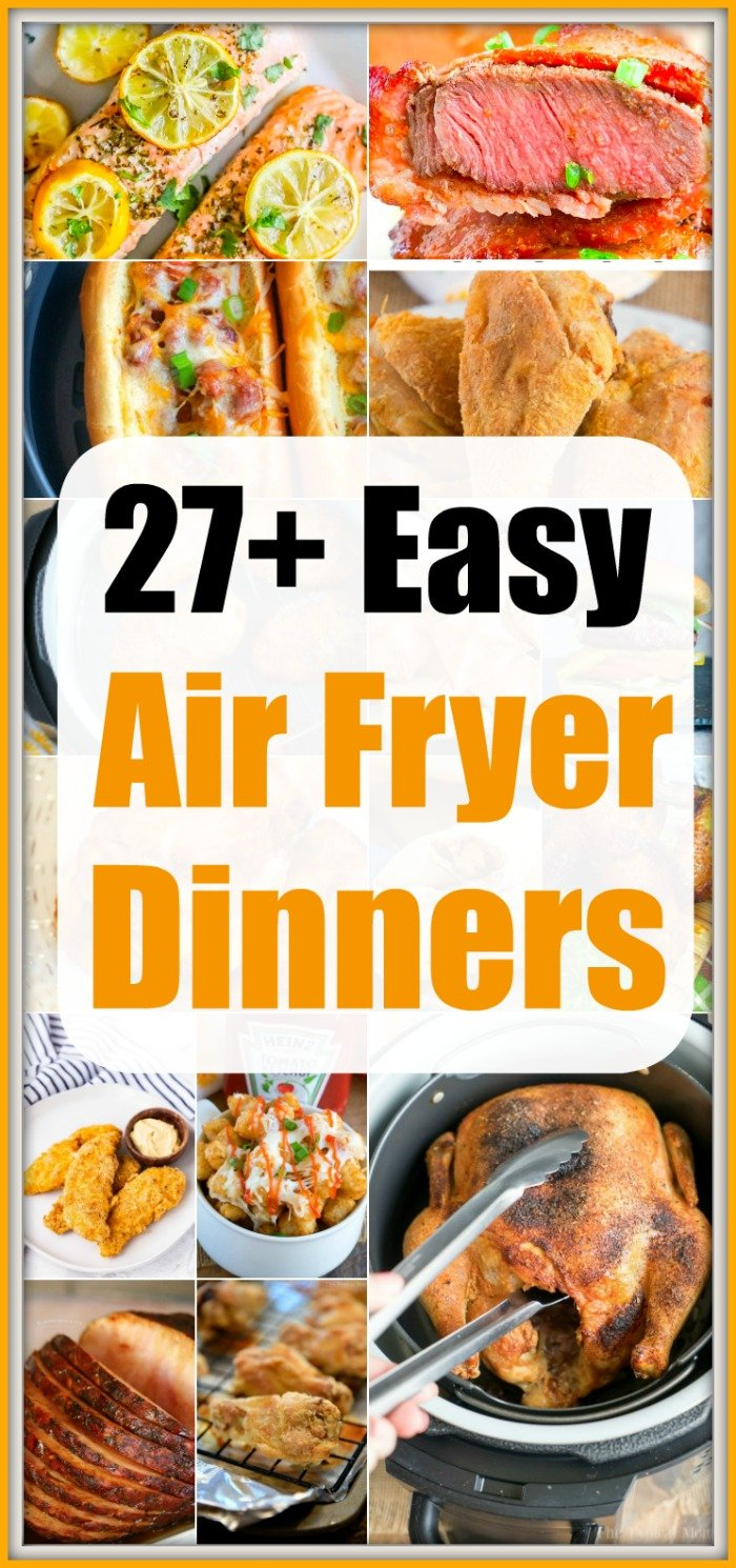 air fryer dinners