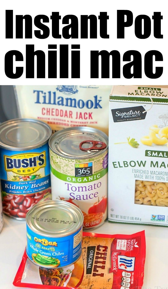 chili mac instant pot