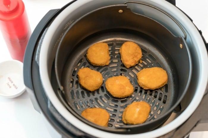 Crispy Air Fryer Frozen Chicken Nuggets Ninja Foodi