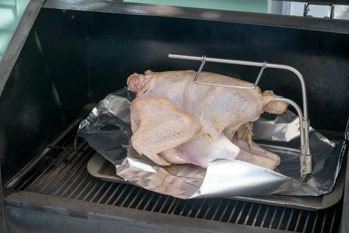 pellet grill turkey
