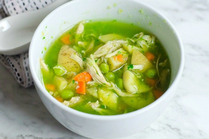 pressure cooker chicken potato soup