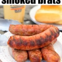 smoked brats