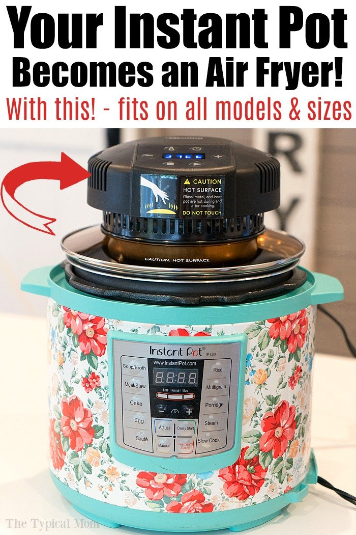 How to Turn an Instant Pot Into an Air Fryer
