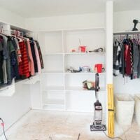 do it yourself walk in closet
