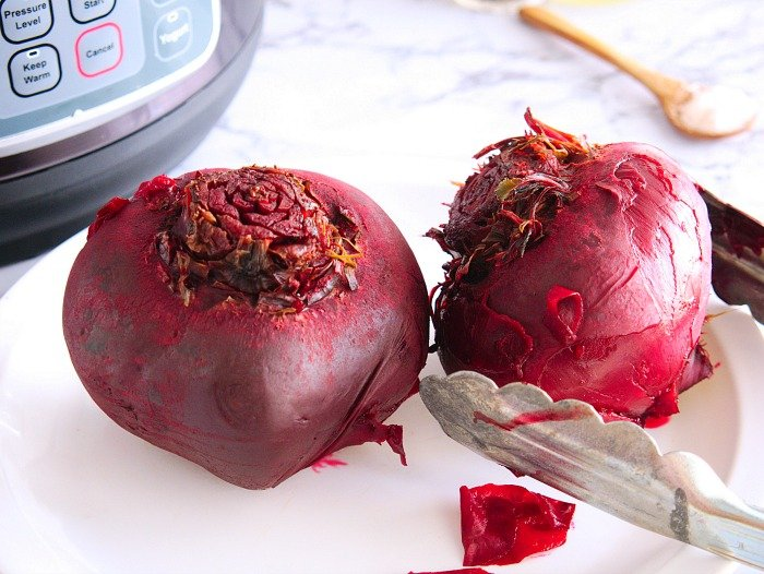 how to cook beets in a pressure cooker