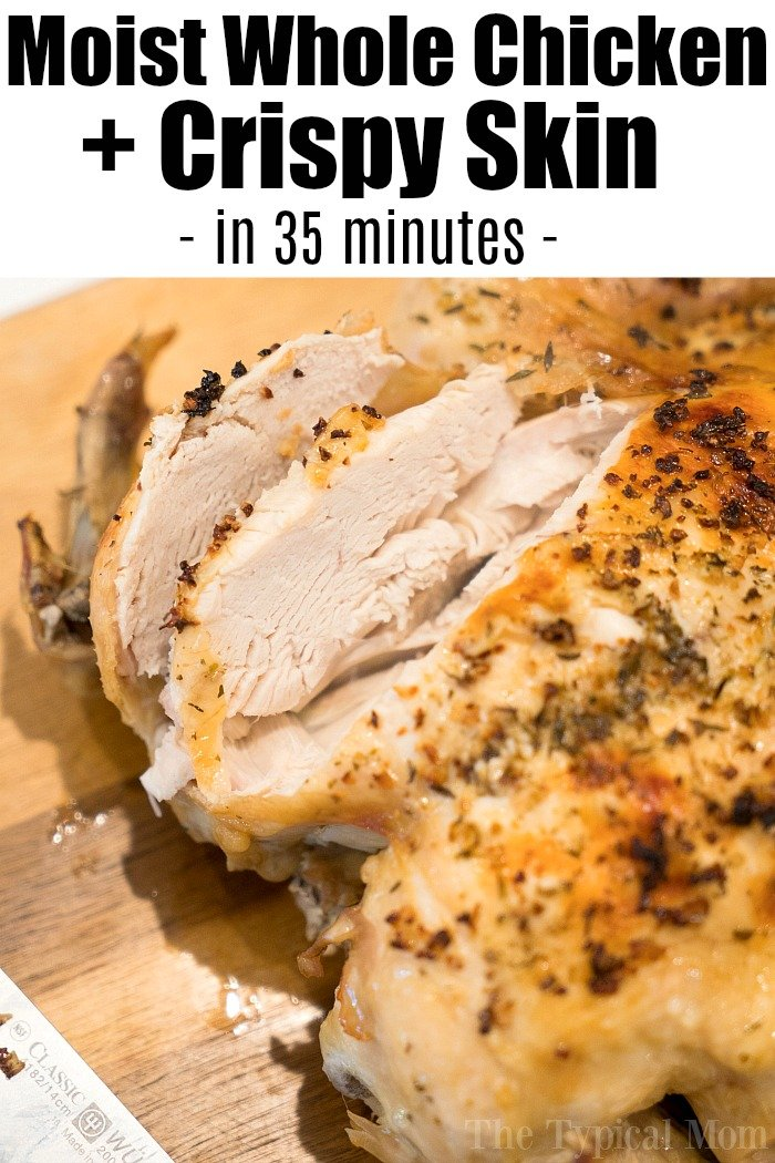 how to cook moist chicken