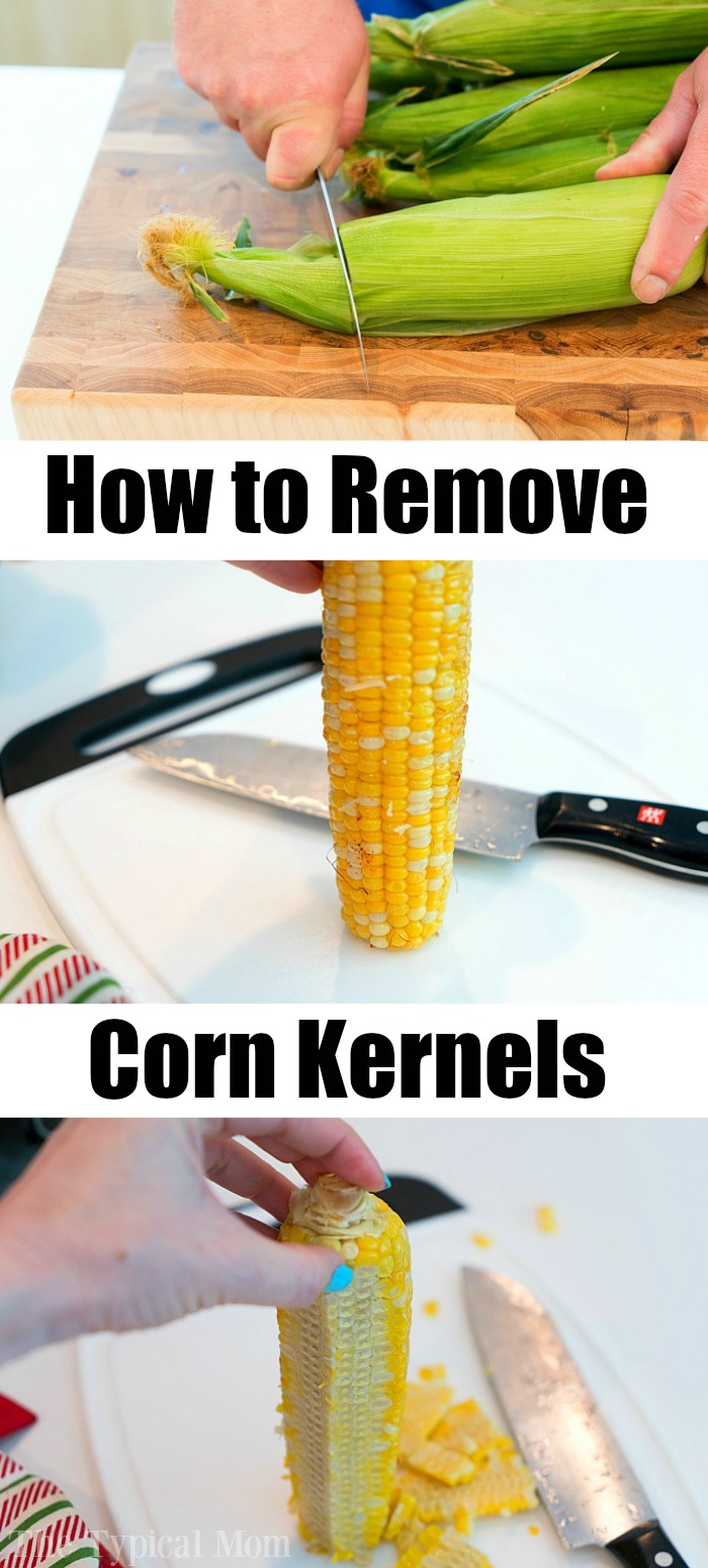 how to remove corn kernels 2