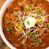 mild chili recipe