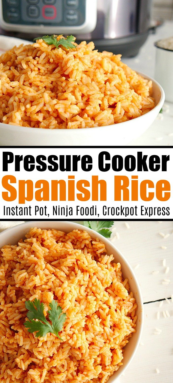 ninja foodi mexican rice