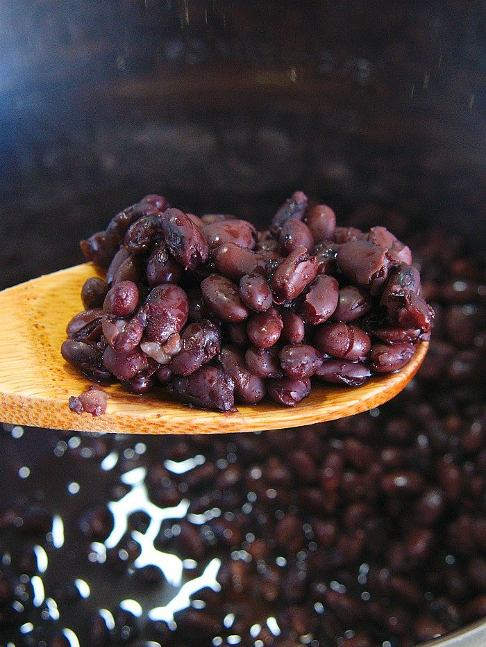 pressure cooker black beans recipe