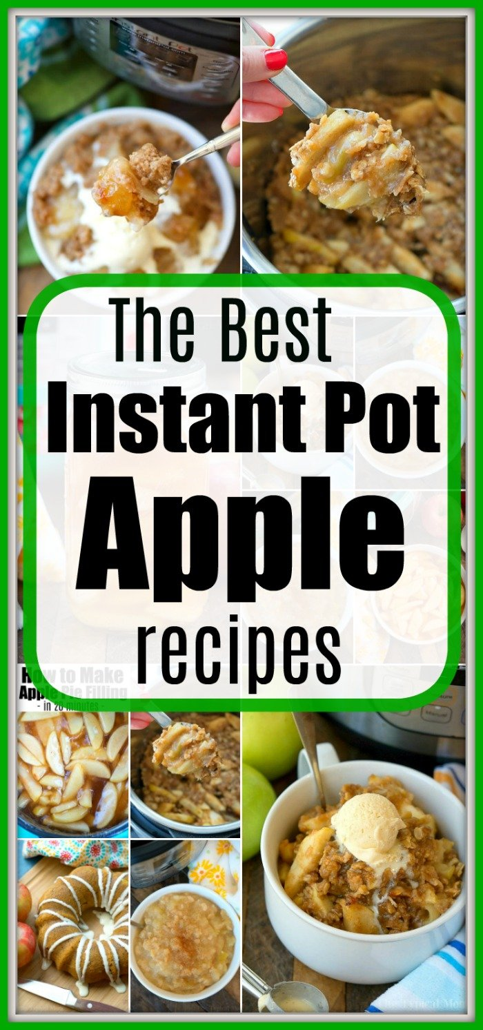 instant pot apple recipes