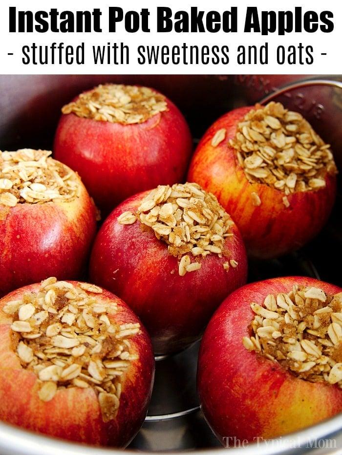 Best Pressure Cooker Baked Apples Ninja Foodi Instant Pot