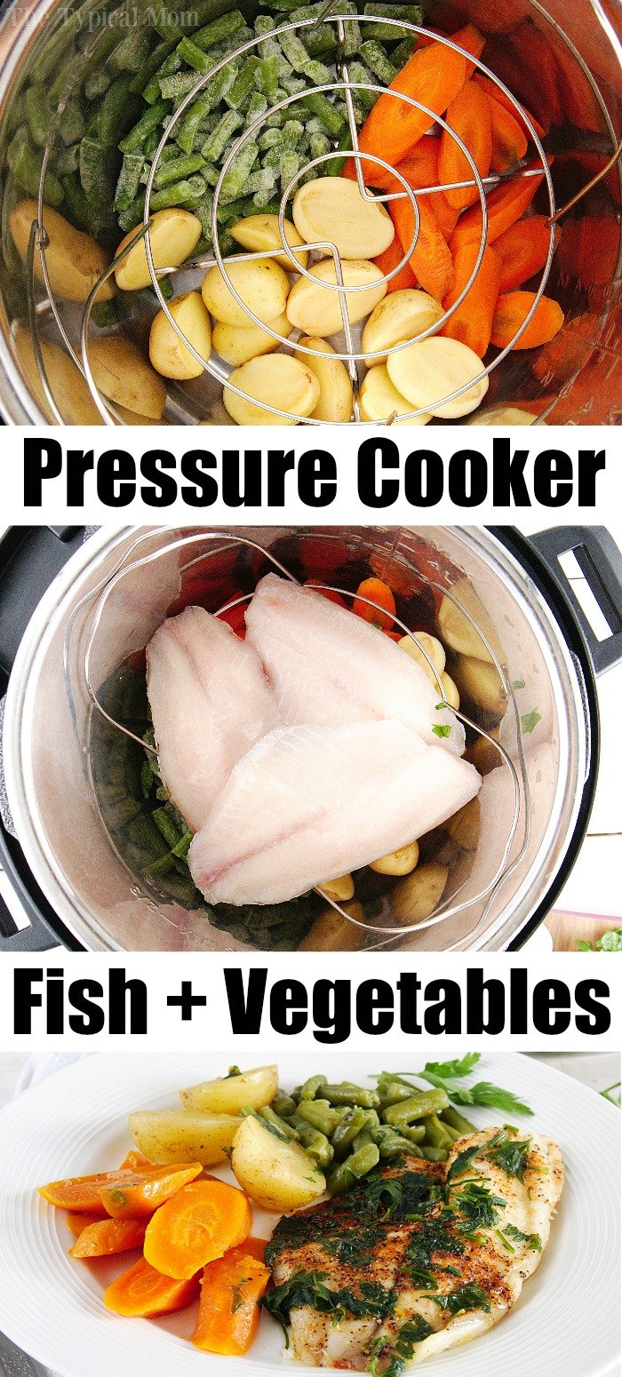 instant pot fish and vegetables