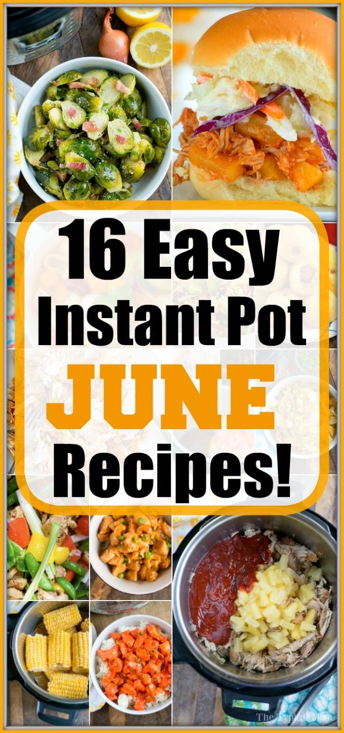june instant pot recipes