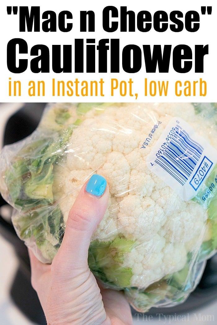 macaroni and cheese cauliflower