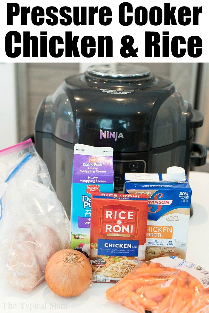 ninja foodi chicken and rice