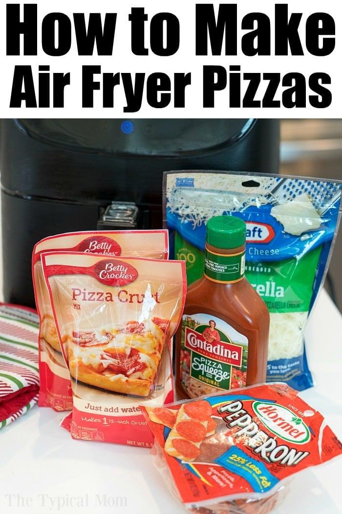 air fryer pizzas