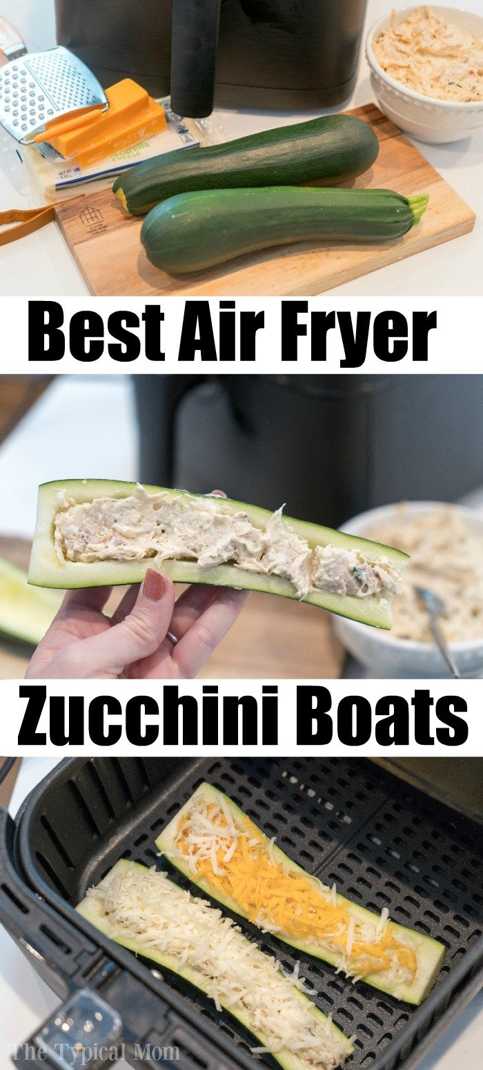 air fryer zucchini boats 2