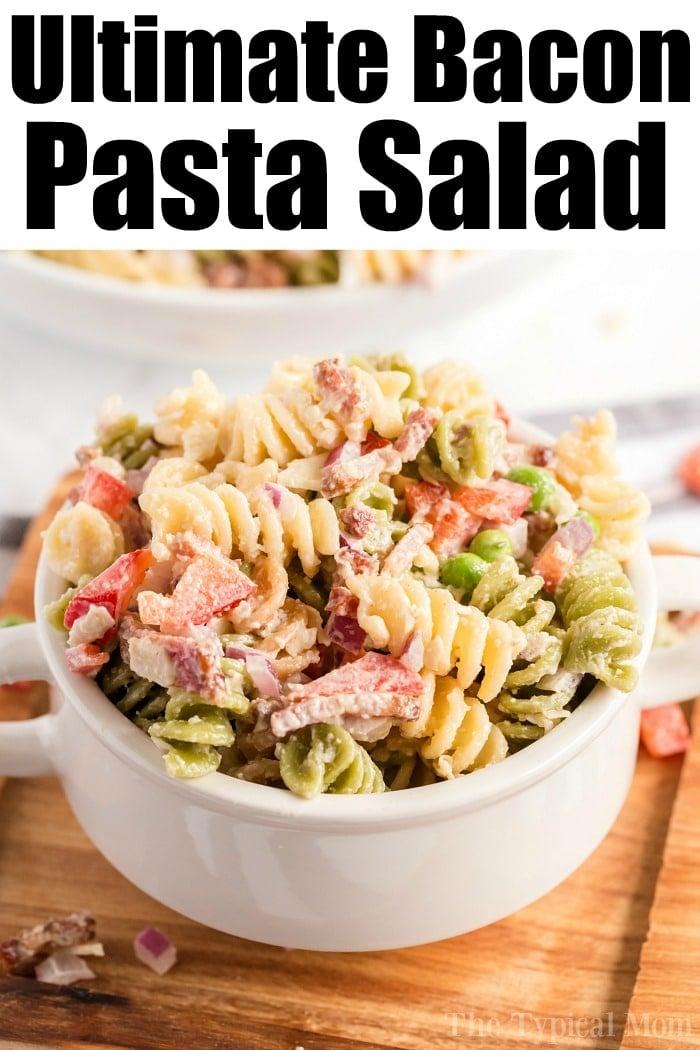 bacon pasta salad