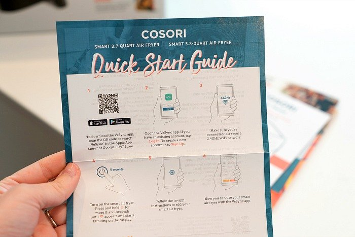 cosori smart air fryer