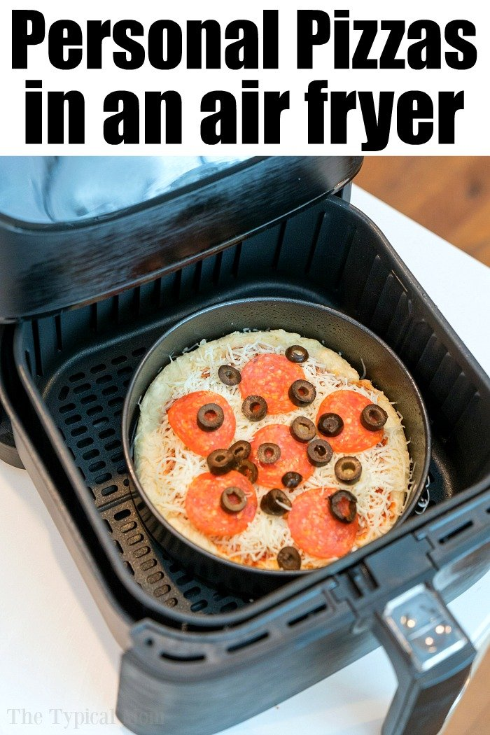 homemade air fryer pizza