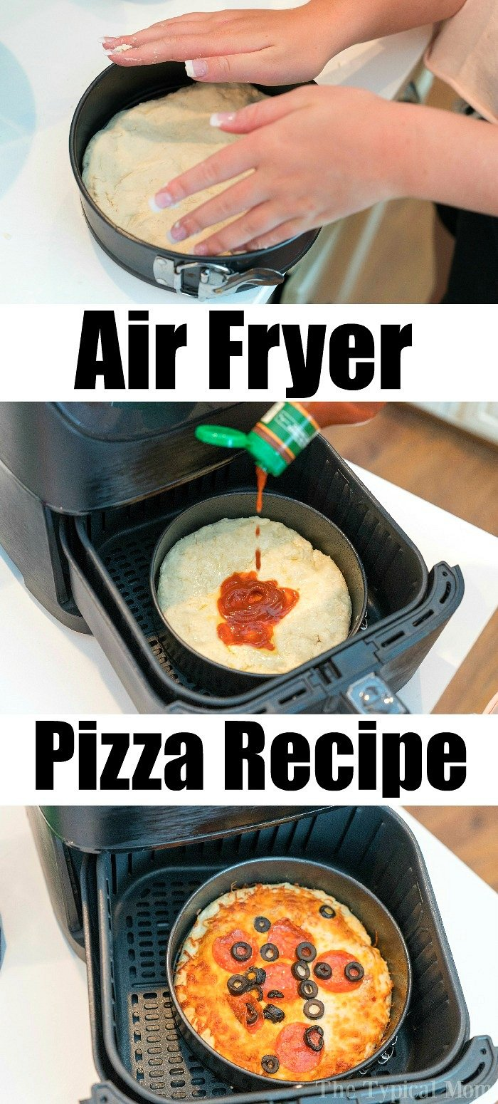 how to make air fryer pizza