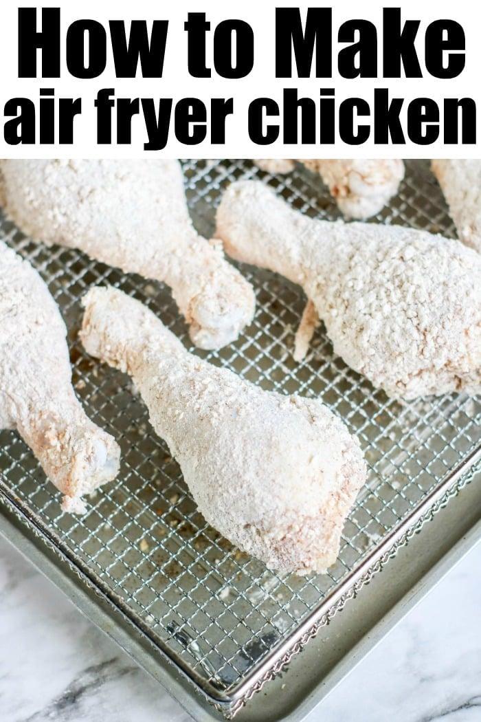Air Fryer Buttermilk Chicken