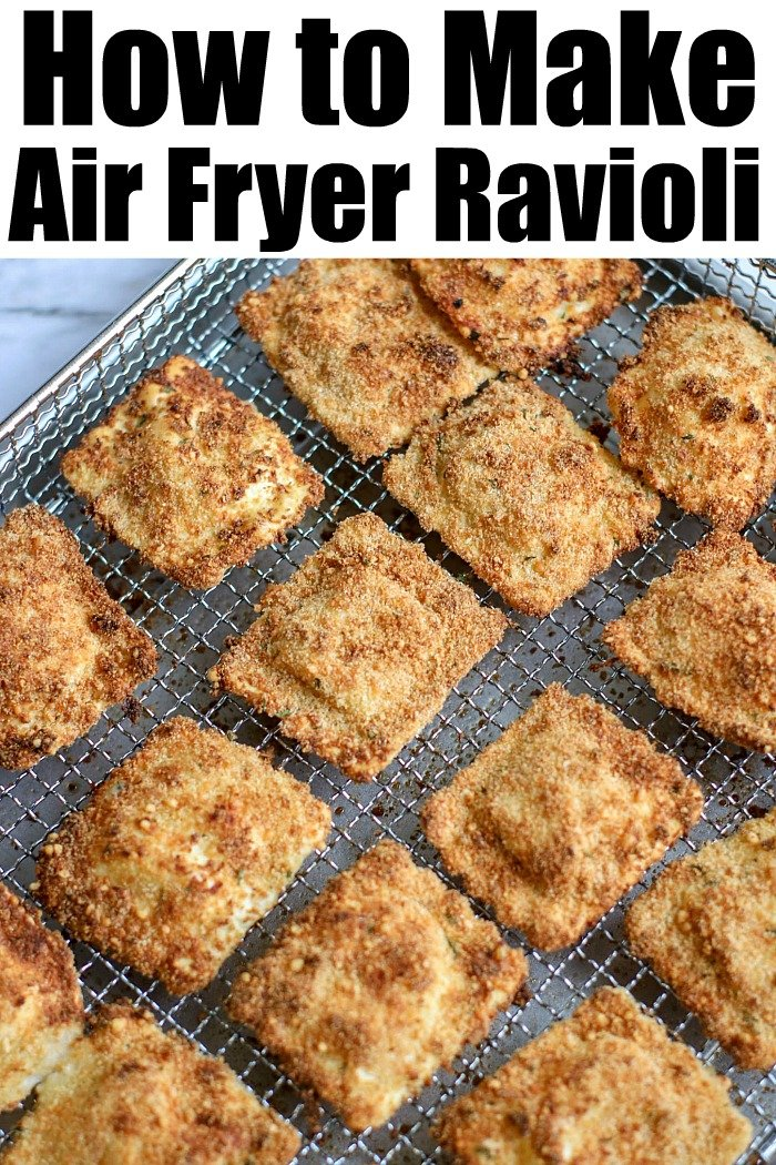 Air Fryer ravioli