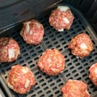 Meatballs in Air Fryer 2