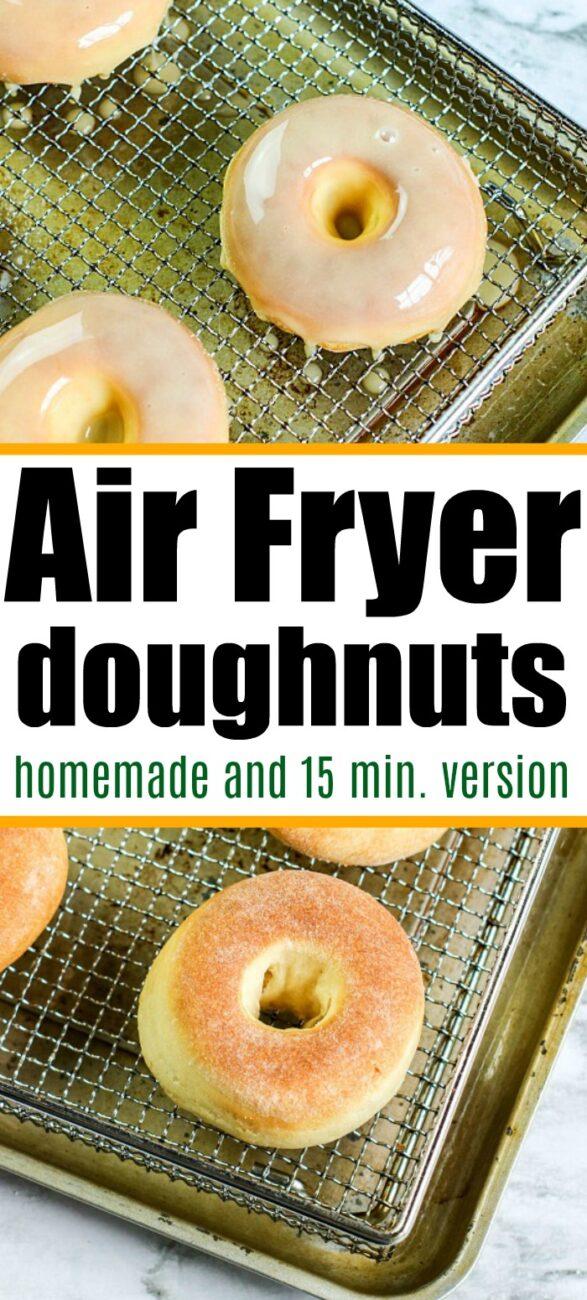 doughnuts in air fryer