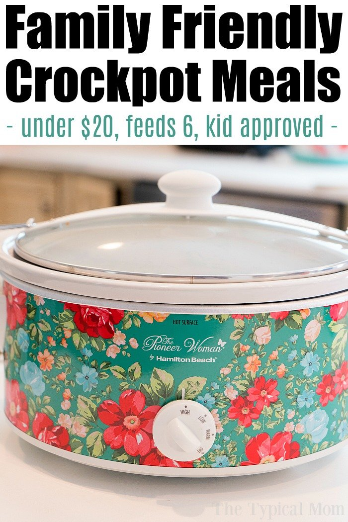 easy cheap crockpot meals