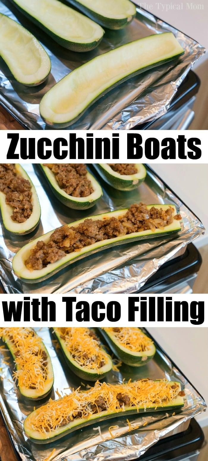 easy zucchini boats