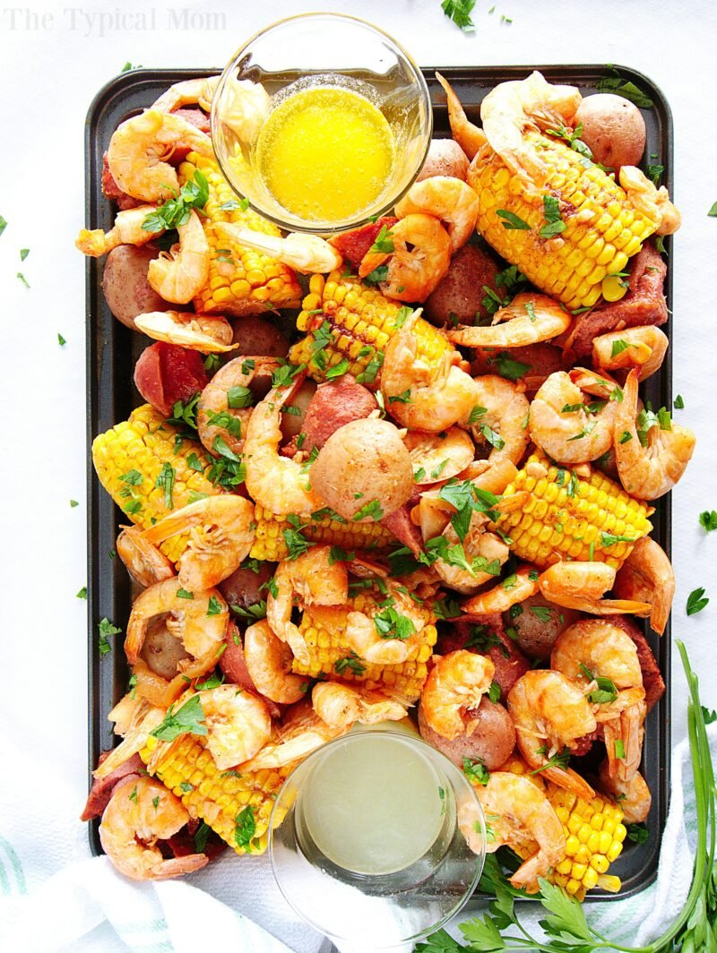 pressure cooker shrimp boil