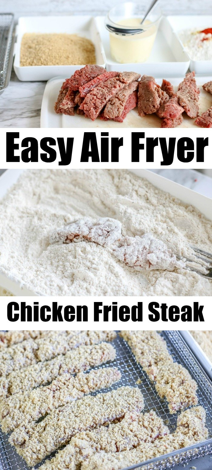 Chicken Fried Steak air fryer