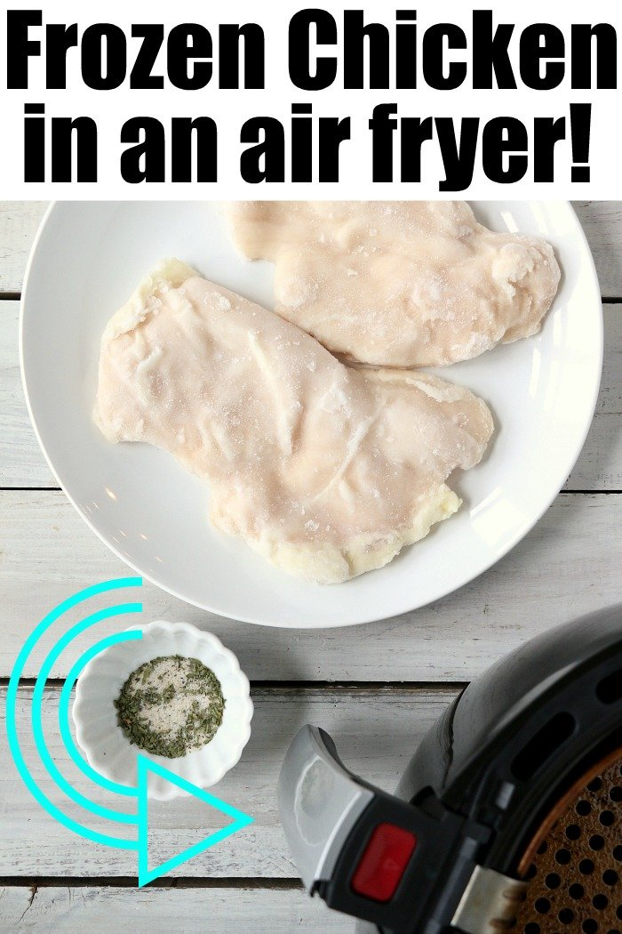 Frozen Chicken Breast in Air Fryer 2