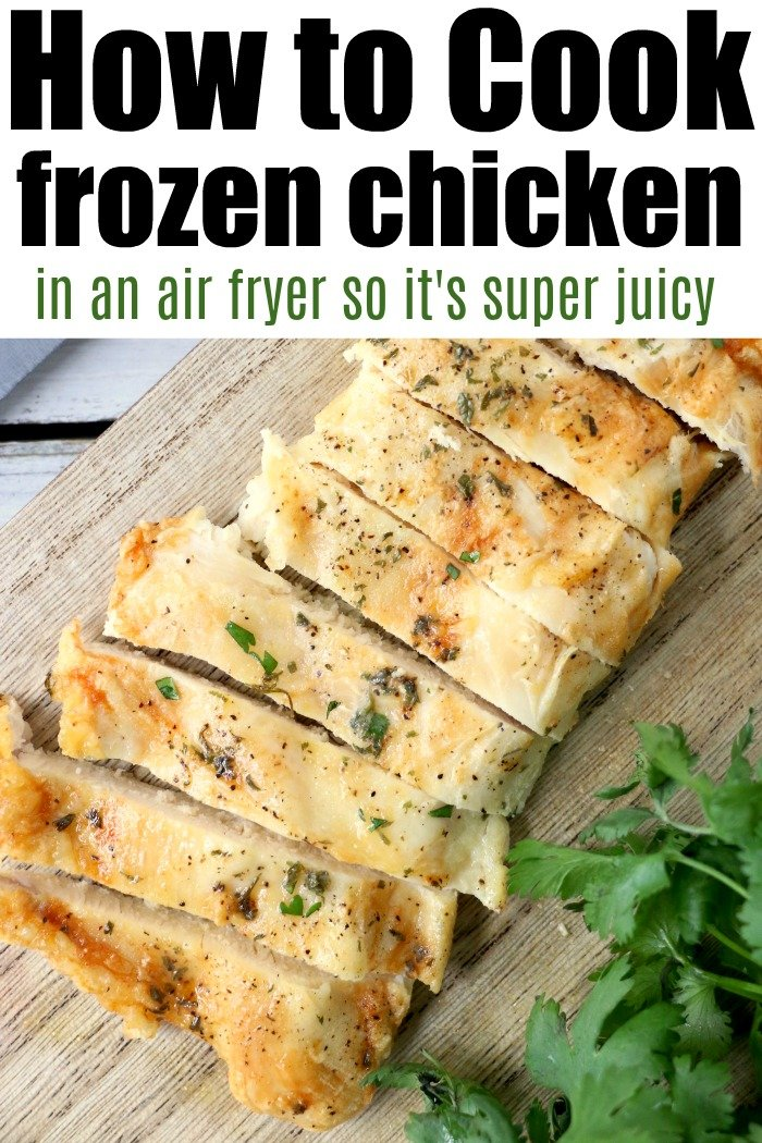 air fryer frozen chicken