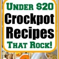 cheap easy crockpot meals